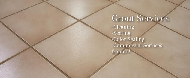 repairing and regrouting tiling