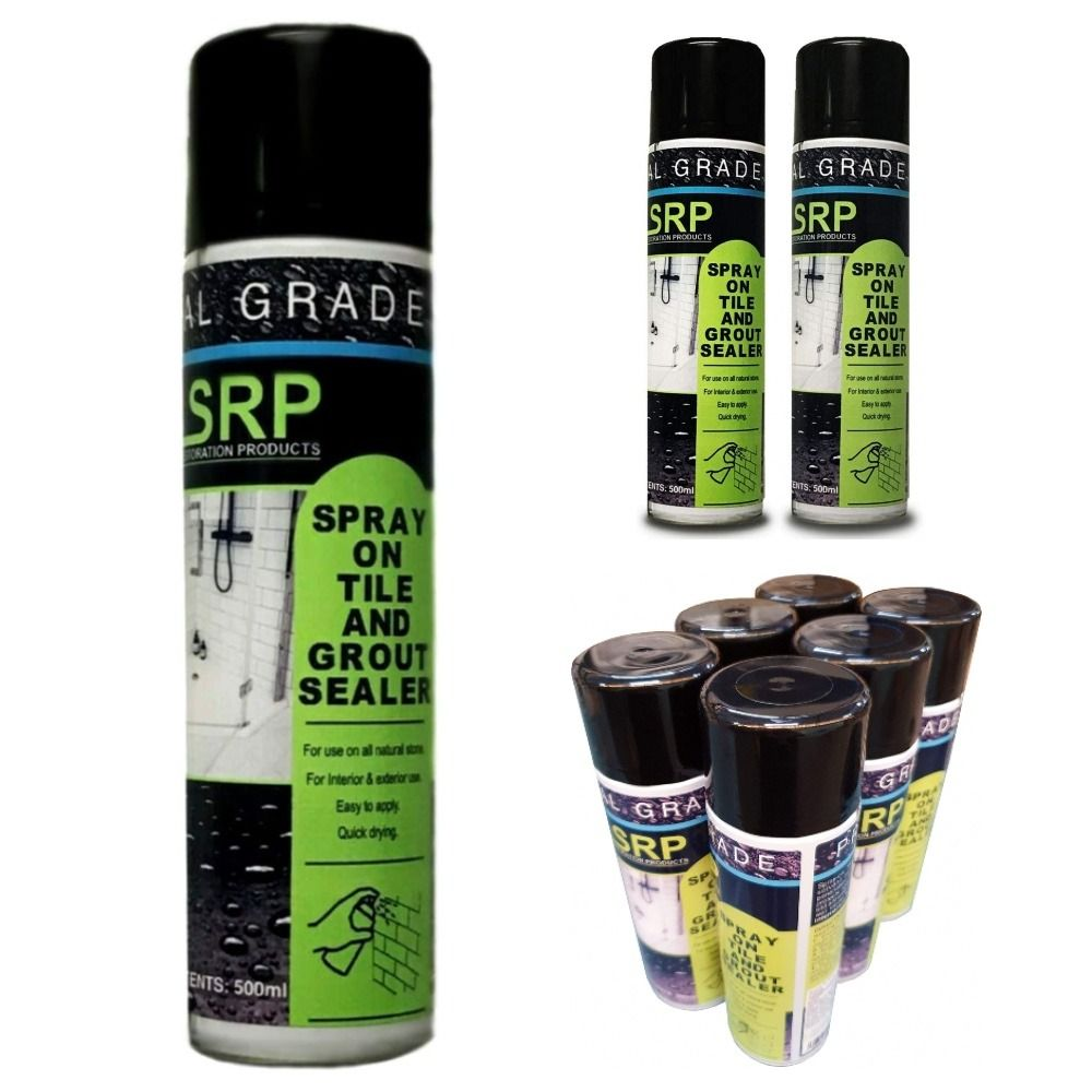 srp grout sealer tile protector spray on aerosol for natural stone tiles grout and masonry