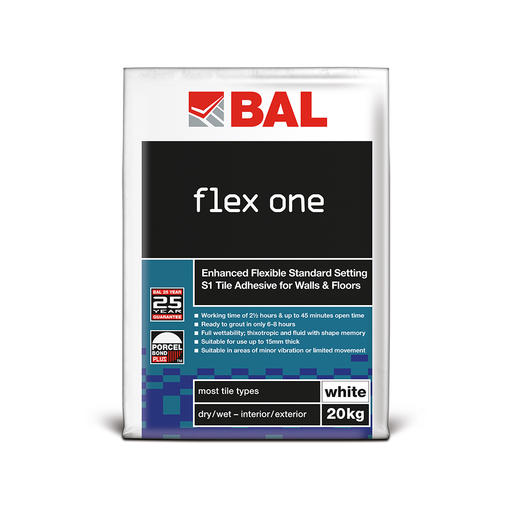 bal flex one tile adhesive