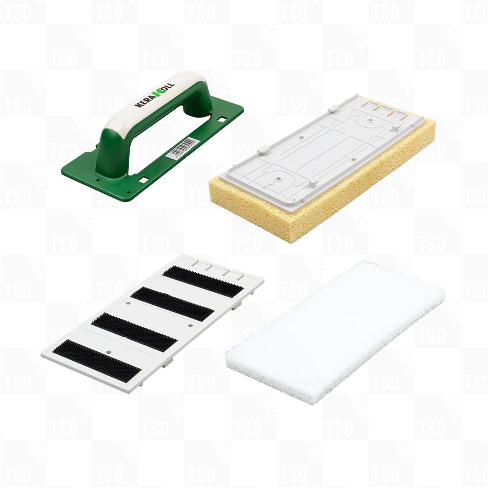 kerakoll cleaning sponge accessories