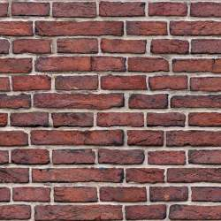 Dark red brick wall seamless texture