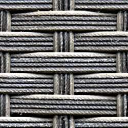 Woven cords seamless texture