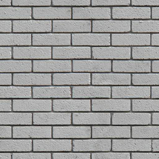 old concrete Painted white brick wall seamless texture