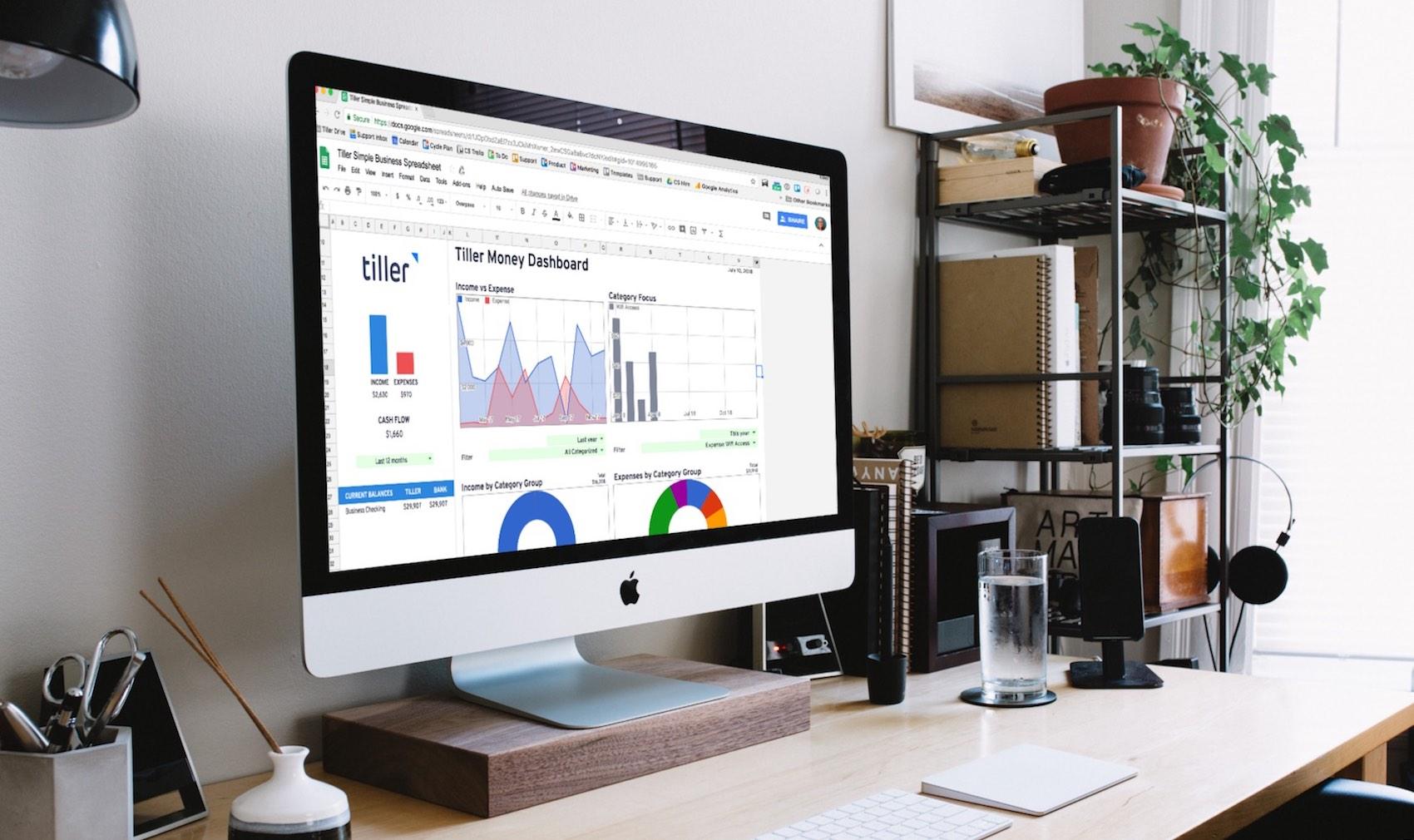 Simple Business Google Spreadsheet