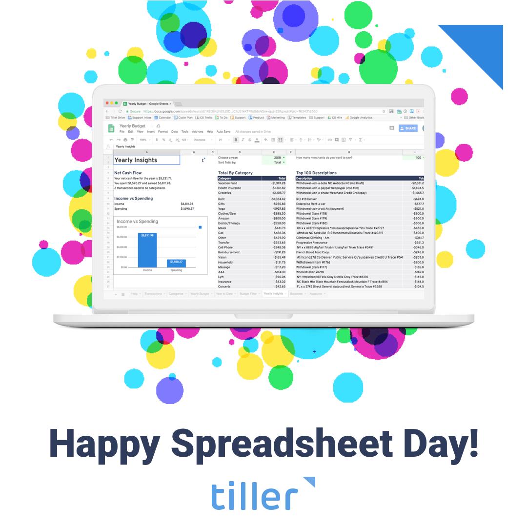 Happy Spreadsheet Day