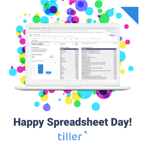 Happy Spreadsheet Day