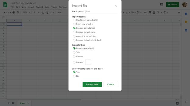 How To Import Csv Into A Google Spreadsheet Tiller Money