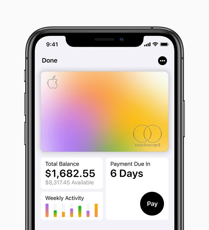 Apple Card iOS App