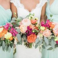 Wedding Wednesday: Maids and Men