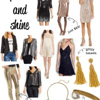 New Years Eve Outfit Ideas: All the Sparkles
