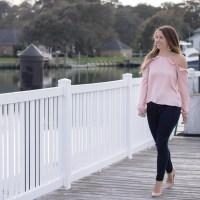 Romantic for Date Night in Blush and Ruffles
