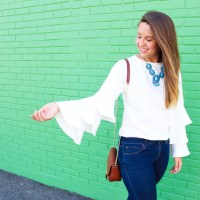 Comfy and Fancy Sweatshirt with Ruffles