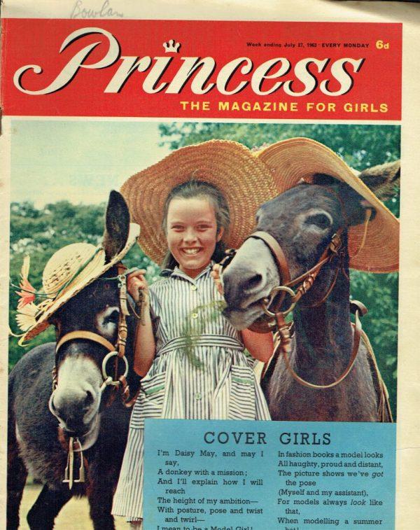 PRINCESS UK MAGAZINE JULY 27TH 1963 - Vintage Magazines