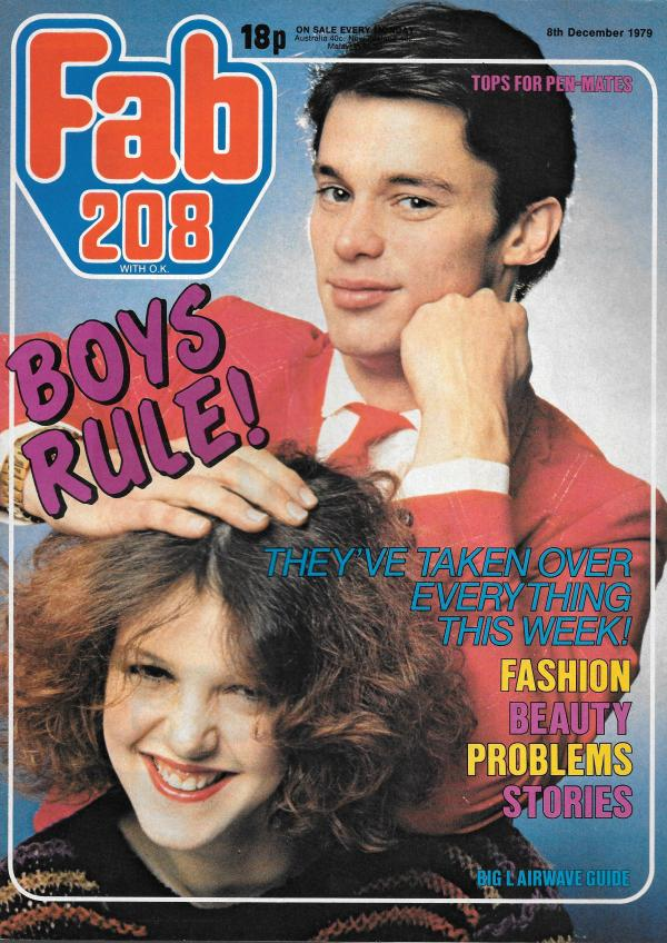 FAB 208 UK MUSIC MAGAZINE DECEMBER 8TH 1979 Vintage and ...