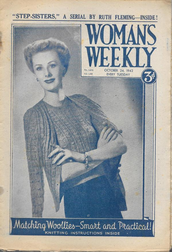 WOMANS WEEKLY UK MAGAZINE OCTOBER 1942 Vintage and Modern ...