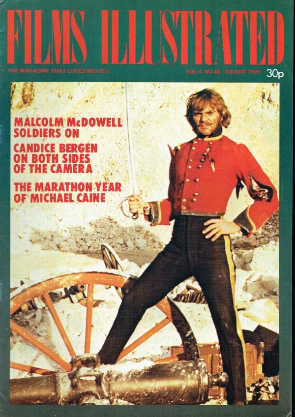 FILMS ILLUSTRATED UK MAGAZINE AUGUST 1975 MALCOLM MCDOWELL ...