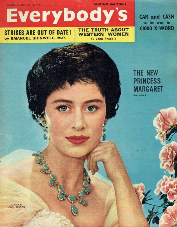 EVERYBODYS UK Magazine JULY 12TH 1958 : Princess Margaret ...