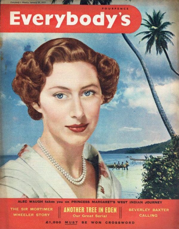 EVERYBODYS UK Magazine JANUARY 29TH 1955 : Princess ...