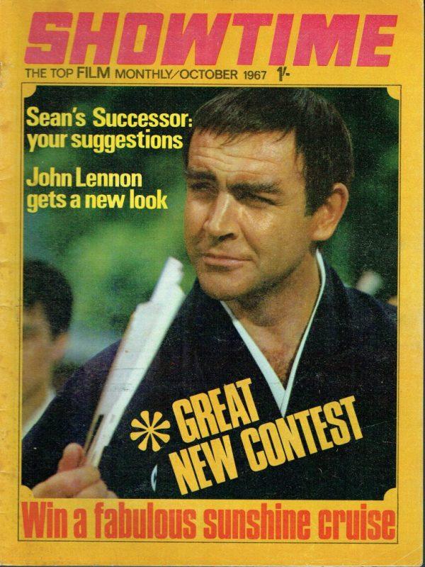 SHOWTIME UK FILM MAGAZINE OCTOBER 1967 JOHN LENNON Vintage ...