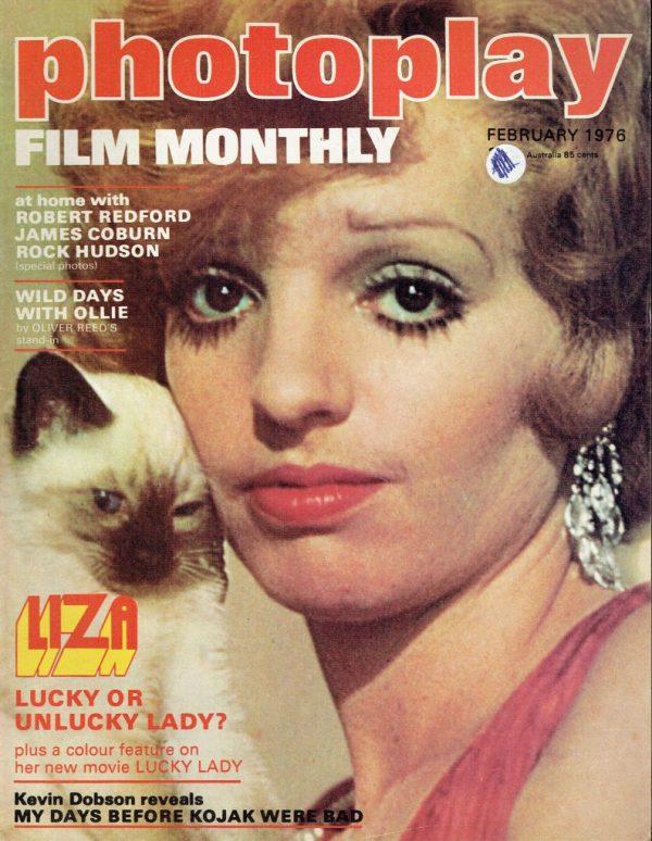 PHOTOPLAY UK MAGAZINE FEBRUARY 1976 LIZA MINNELLI Vintage ...