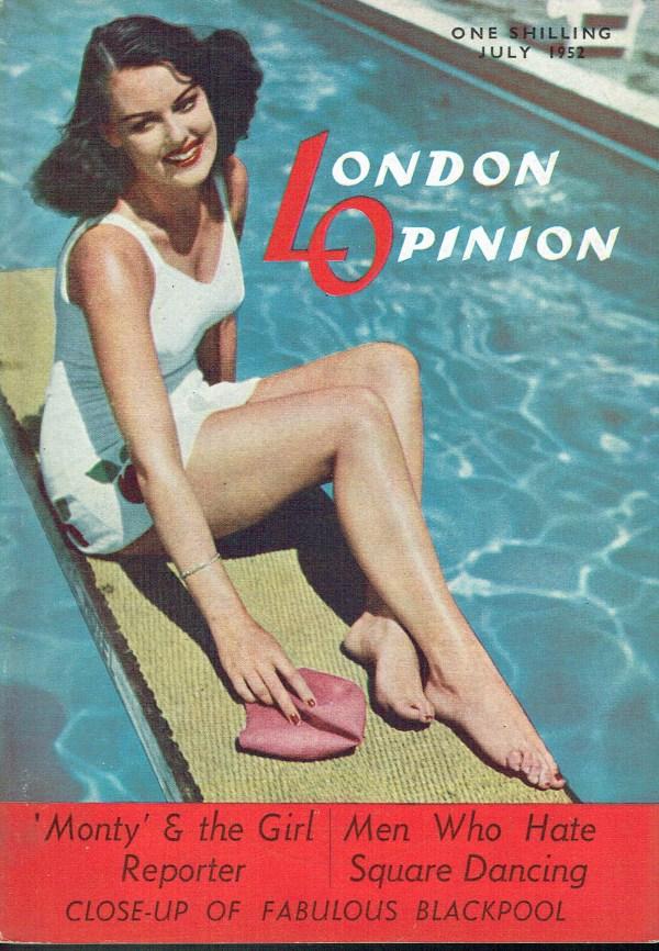 LONDON OPINION UK MAGAZINE JULY 1952 SQUARE DANCING ...