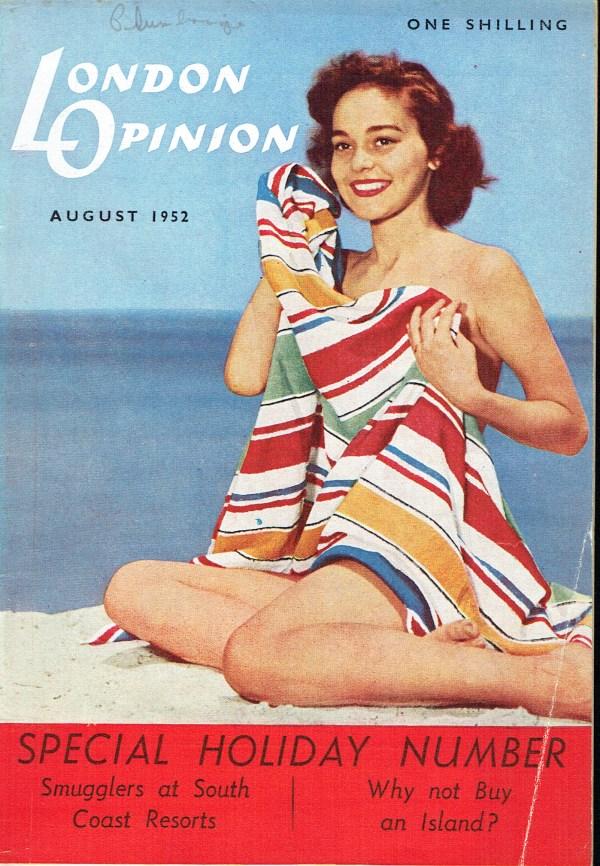 LONDON OPINION UK MAGAZINE AUGUST 1952 THE GOONS - Vintage ...