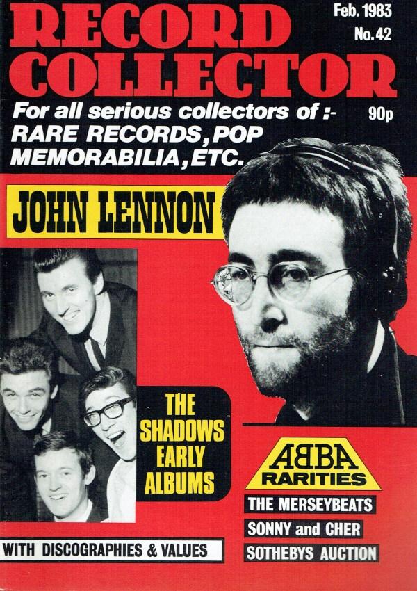 RECORD COLLECTOR UK MAGAZINE FEBRUARY 1983 JOHN LENNON ...