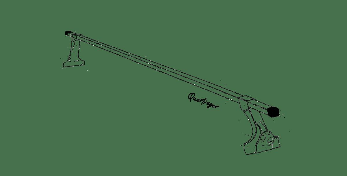 Dachzelt Dachträger Querträger