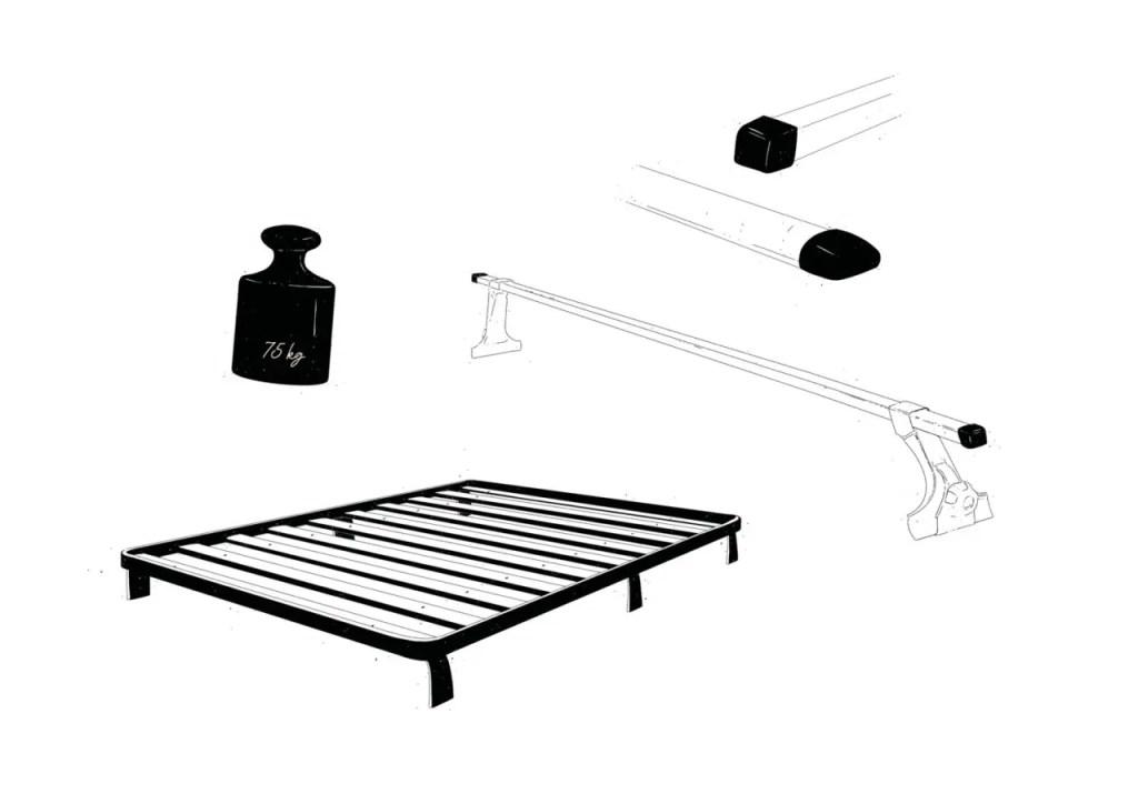 Dachzelt Dachträger Dachträgersysteme
