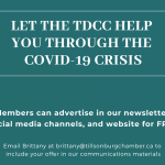A Special Offer for Our Members during the COVID-19 Crisis