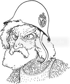 Portraitzeichnung von Bjørn Harkansen