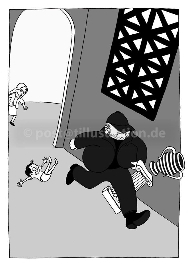 Überfall im Überseemuseum