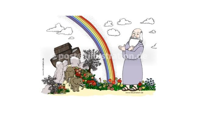 Die Geschichte der Arche Noah