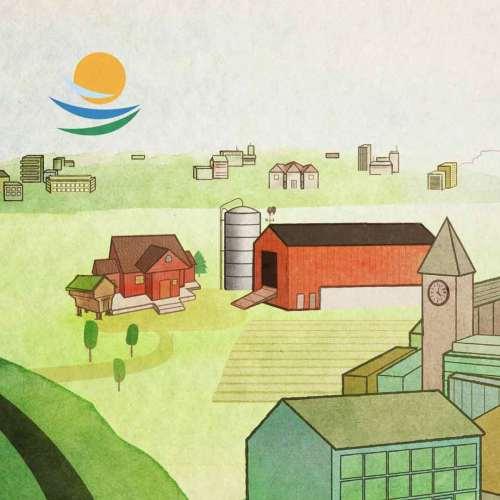 Landkreditt Bank Farmen Sponsorplakat