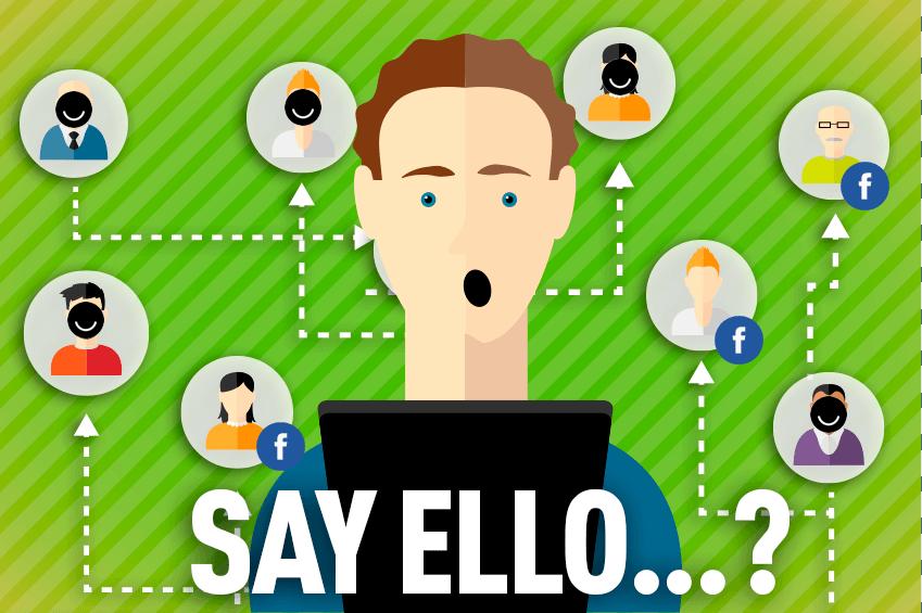 Say Ello Post