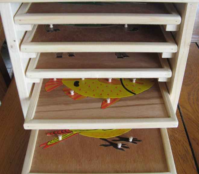 Puzzles botanique et zoologie : fabrication
