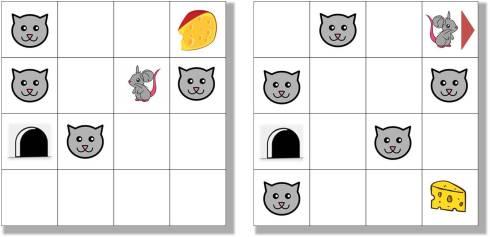 parcours souris et chat