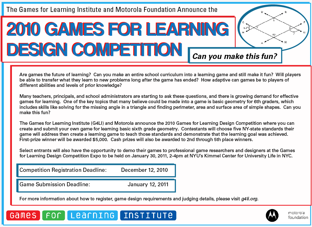 Competition mailer