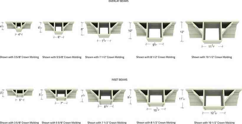 Coffered Ceiling Beam Size Www Energywarden Net