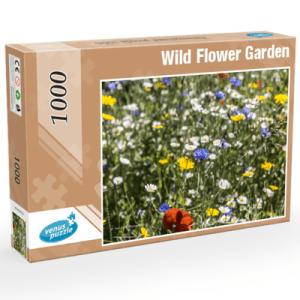 Wild Flower Garden 1,000 piece Jigsaw Puzzle.