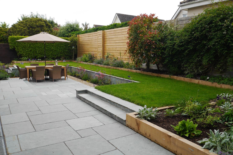 Family garden in Monkstown - Tim Austen Garden Designs on Easy Back Garden Ideas id=17659
