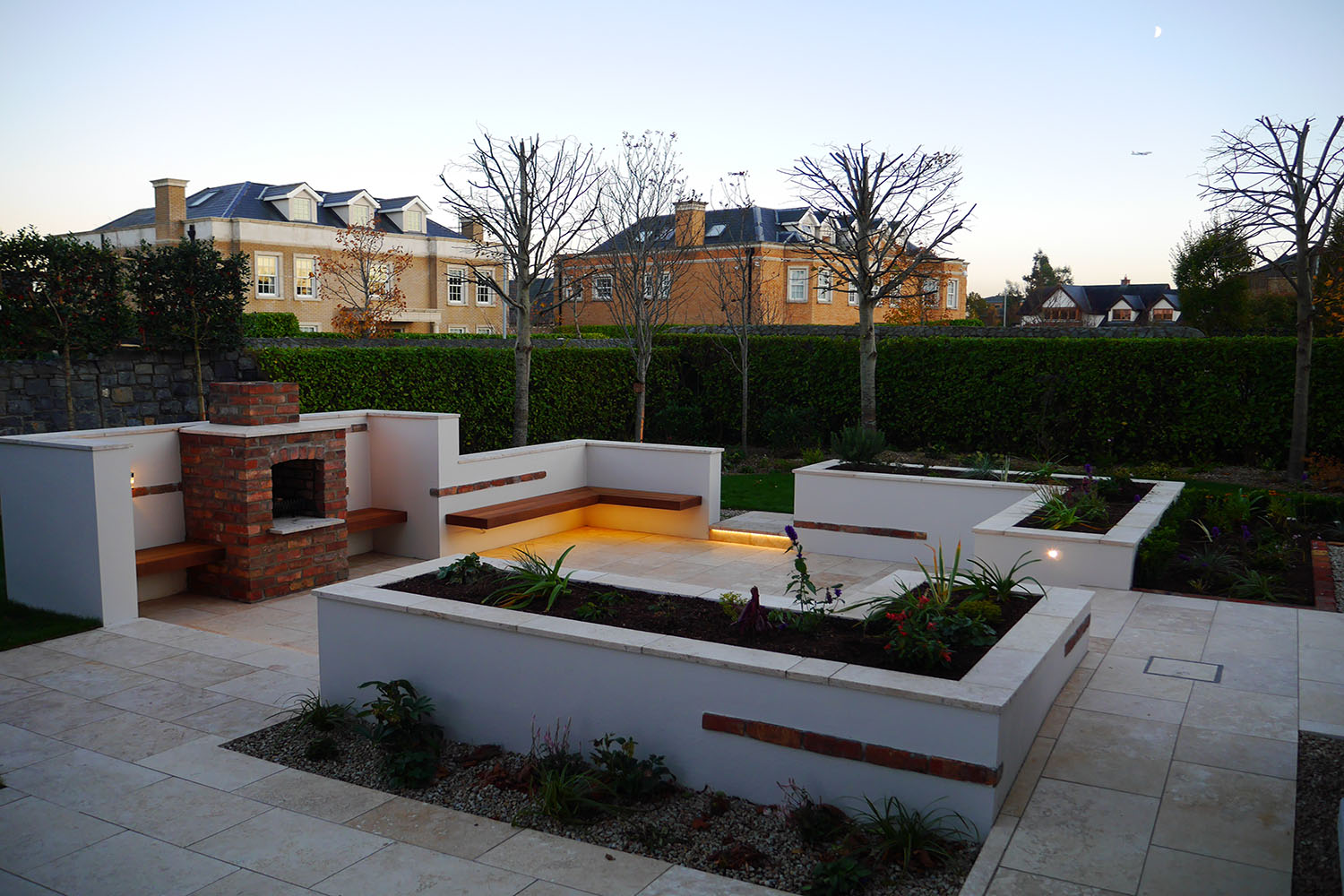 New period home with garden, Dublin - Tim Austen Garden ... on Backyard Patio Layout id=53302