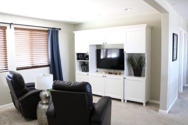 How to create a huge built-in homework desk using cheap Ikea Rast dressers!