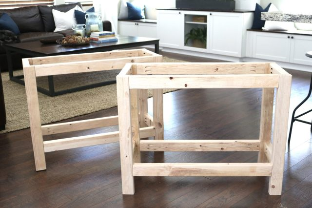 How to build DIY custom nightstands for around $35 each!