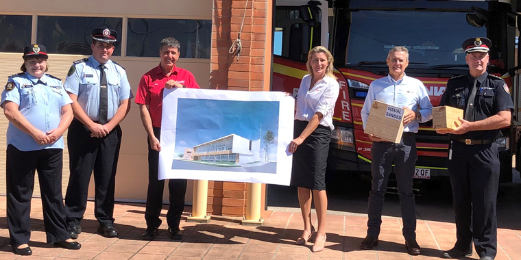 ENGINEERED TIMBER SOLUTION FOR HERITAGE FIRE STATION