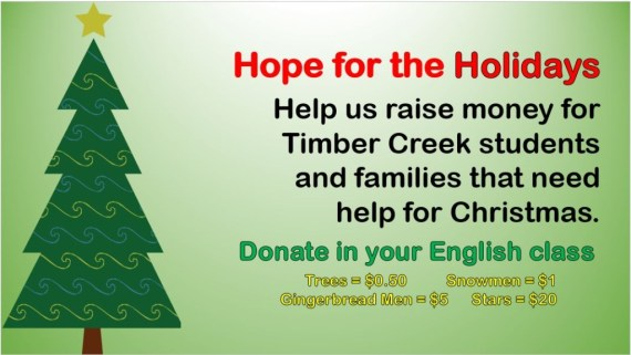 hope for holidays