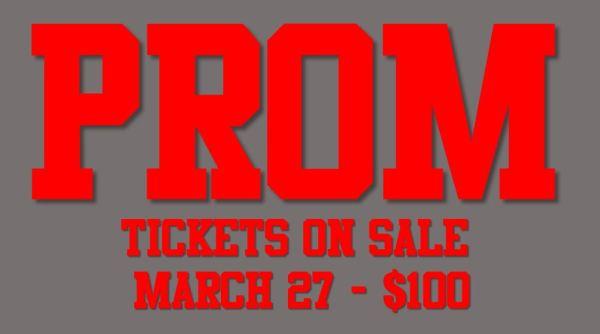 prom tickets new