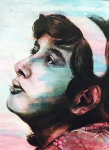 Timber Creek art student Isabeth Lopez' Gold Seal-winning artwork.