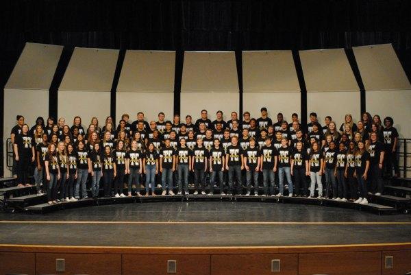 The 2014-15 Timber Creek Varsity Mixed Choir. (Photo by yearbook photographer Robert Samudio)