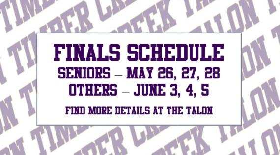 finals schedules